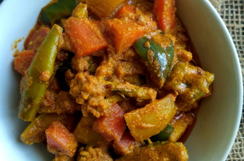 Mix vegetables curry (winter special)